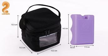 Hình ảnh củaBộ Giữ Lạnh Gồm Túi Linh Cooler Bag và Đá Khô Mama's Choice